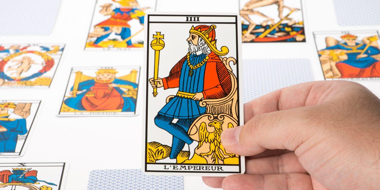 Tarot de Marseille: l'Empereur